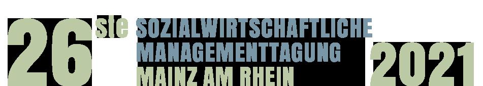 26. Sozialwirtschaftliche Managementtagung Mainz 2021